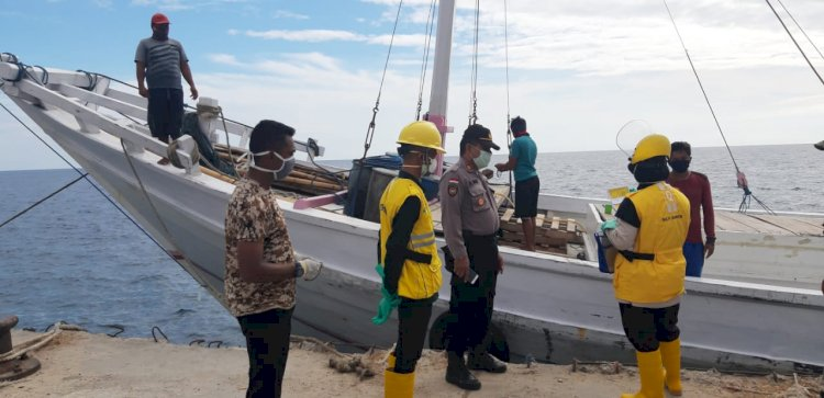 Pelabuhan Wini Kembali diperketat Polsek Insut