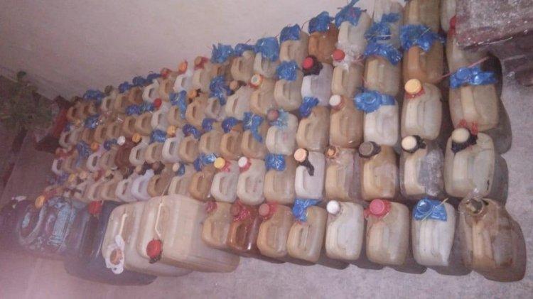 Unit Tipiter Amankan Ratusan Liter BBM beserta Tersangka