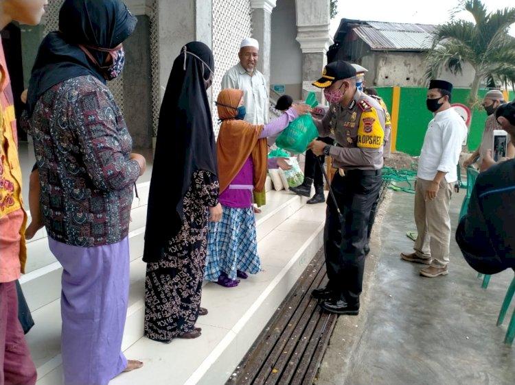 safari Ramadhan peduli Sesama, Polres TTU Bagikan Semabako