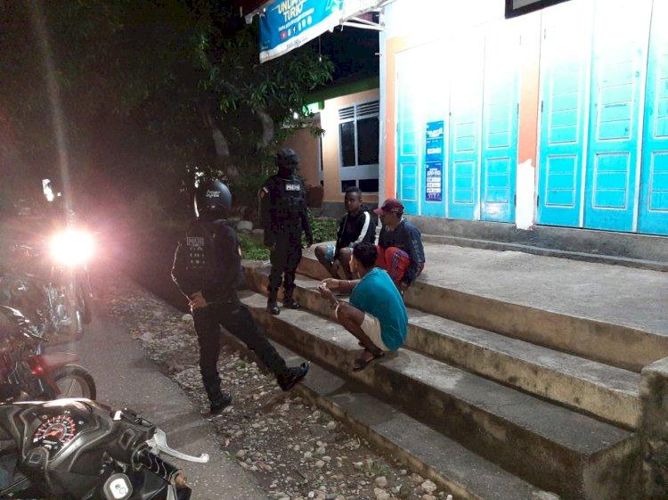 Upaya Unit Raimas Polres TTU Putus Rantai Penyebaran Virus Covid 19