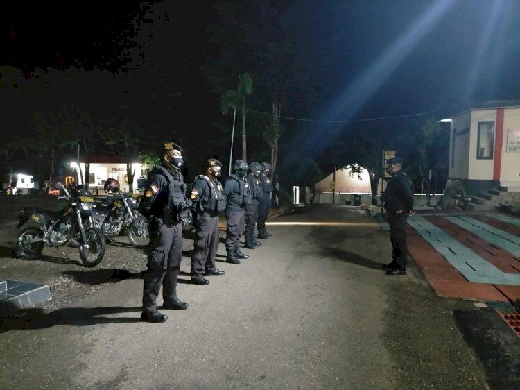 Imbau Masyarakat taati Protkes, Raimas Polres TTU Rutin Lakukan Patroli Malam