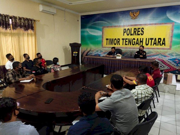 Diskrimum Polda NTT Apresiasi Penerapan Restorative Justice oleh Polres TTU