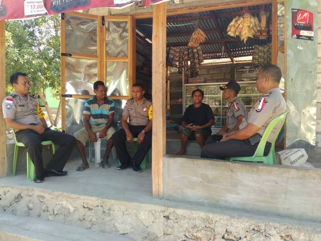 Patroli Kamtibmas ke seluruh Desa Menjelang Pemilu 2019