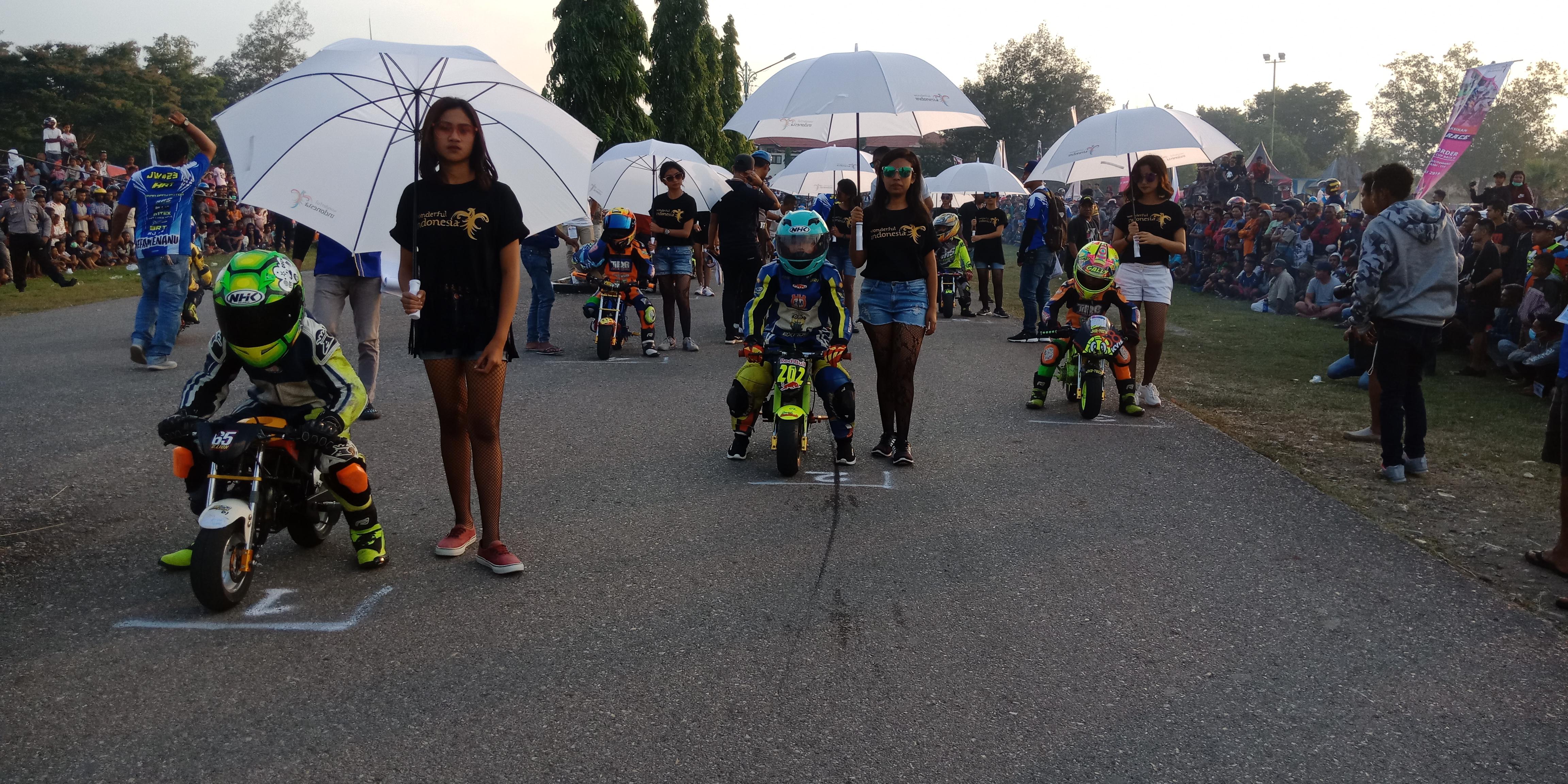 ROAD RACE CROSSBORDER diadakan untuk mempromosikan Kabupaten TTU sebagai destinasi pariwisata