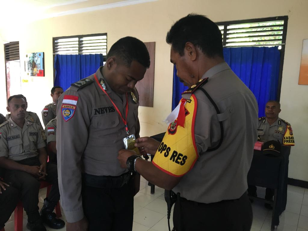 Cegah Premanisme dan Kenakalan Remaja, Polres TTU Gelar Operasi Bina Kusuma