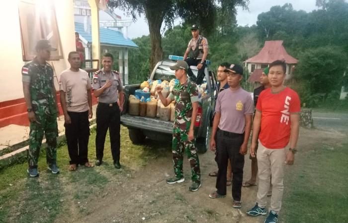 Kerja Sama TNI-Polri di Perbatasan Sukses Gagalkan Upaya Penyelundupan BBM